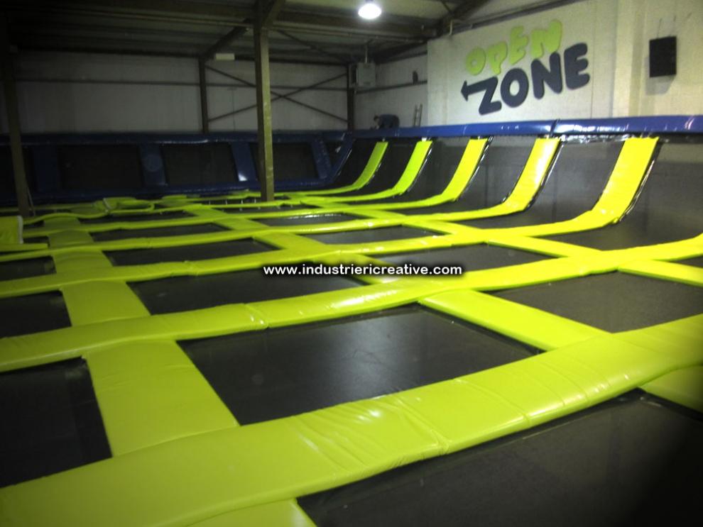 Trampoline park manufacturer provides trampoline park for Indoor trampoline park design manufacturing