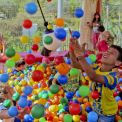 Pool with balls for children - amusement game