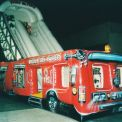 The Fire Truck  - giant inflatable slide game