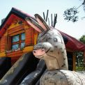 Inflatable playground Chalet - Big inflatable donkey