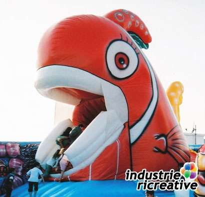 Inflatable game Nemo - production and sale