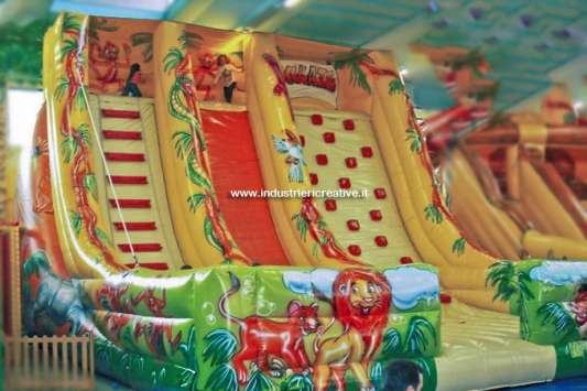 Inflatable slide Jungle - Italy