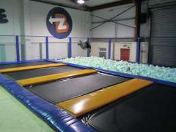 Amusement Trampoline Indoor Park manufacturer - trampoline with foam pit
