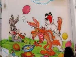 Decorazioni parco gioco per bambini - cartoni animati - animali