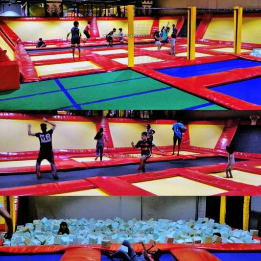 Trampoline arena Khairan Kuwait