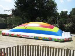 Inflatable playground Mountain of air