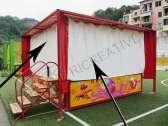 Teli anti-pioggia per camera con palline professionale