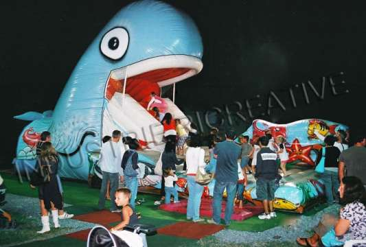 Balena gonfiabile - vendita giochi gonfiabili