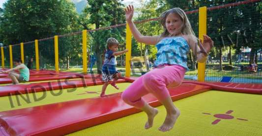 Trampolines for sale with professional jumping mat - manufacturers