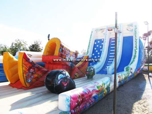 Inflatable Structure Sea-themed - manufacture and sale of leisure equipment for family park and playground