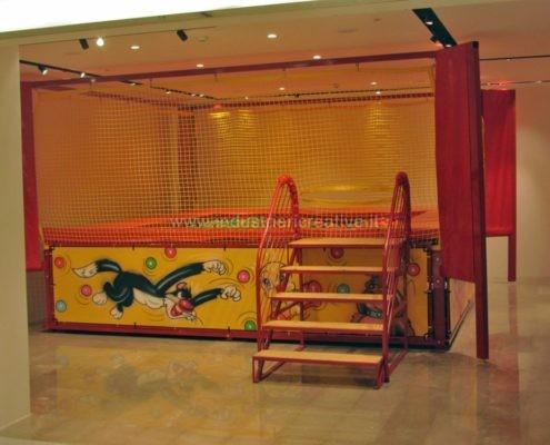 Camera con palline da interno