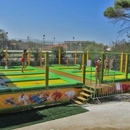 Modular professional trampolines supply - Tappeti elastici vendita