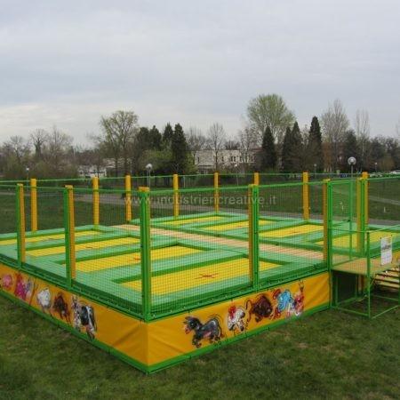 Modular trampolines supply - Produzione di trampolini elastici professionali