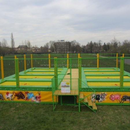 Modular professional trampolines manufacturer - Vendita di trampolini elastici professionali