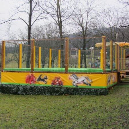 Vendita di trampolini elastici modulari - Trampolinanlage