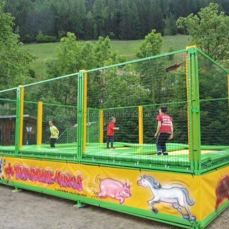 Modular trampolines manufacturer and supplier - Produzione di trampolini elastici professionali