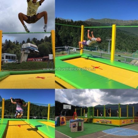 Professional trampolines manufacturer and supplier - Tappeti elastici vendita