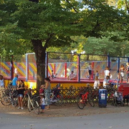 vendita di trampolini elastici modulari