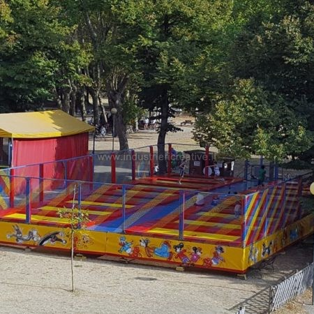 Produzione di trampolini elastici modulari professionali
