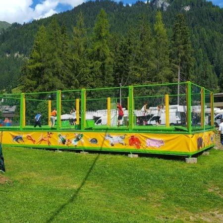 Produzione di trampolini elastici