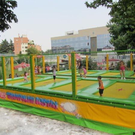 Produzione di trampolini elastici modulari