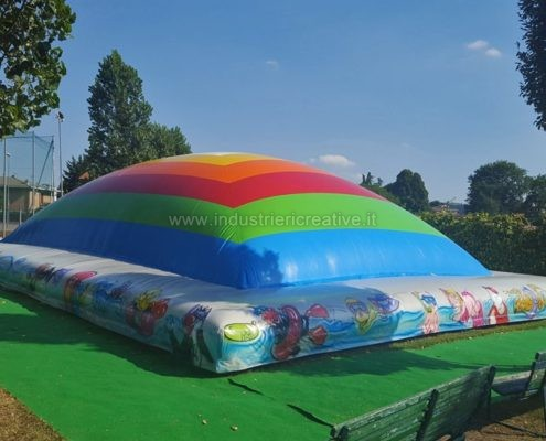 Produzione e vendita di giochi gonfiabili per piscine - Manufacturing and supply of inflatable games for swimming pools - Fabrication et vente de jeux gonflables pour piscines