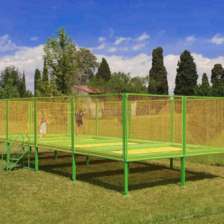High performance trampoline trampoline für sport