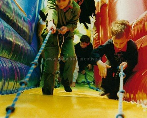 Gioco gonfiabile Gallo - vendita di scivoli gonfiabili per bambini