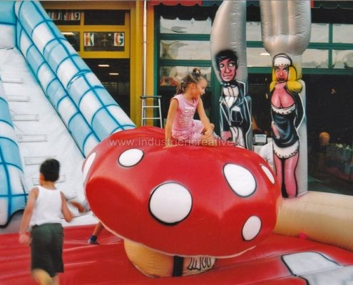 Gioco gonfiabile Pizza - produzione e vendita di giochi gonfiabili per ristorante