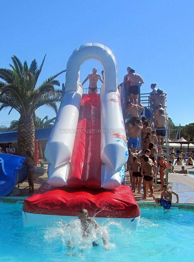 Acquascivoli gonfiabili per piscine vendita