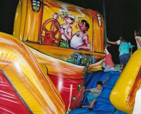 Particolare capsula mobile - Barca gonfiabile