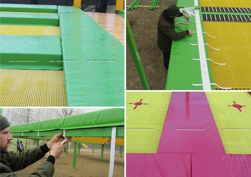 Cuscini di ricambio per trampolini elastici