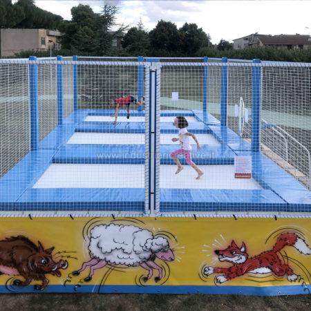 3 trampolinanlage