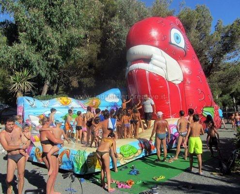 Inflatable Goldfish - Pesce Rosso gonfiabile