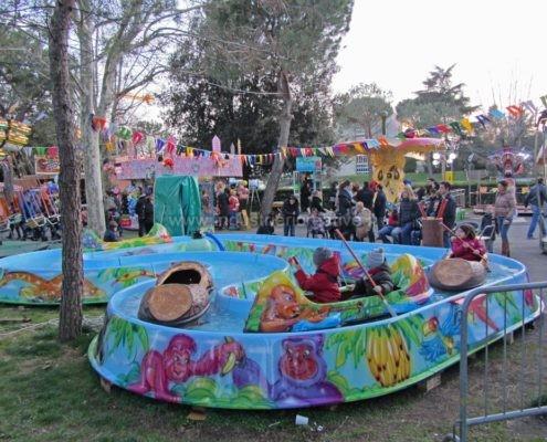 Attrazione acquatica Jungle River per luna park e parco giochi - produzione e vendita