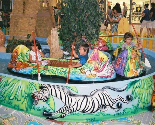 Attrazione acquatica Jungle River per luna park - produzione e vendita - fabrication de manèges pour parcs d'attractions