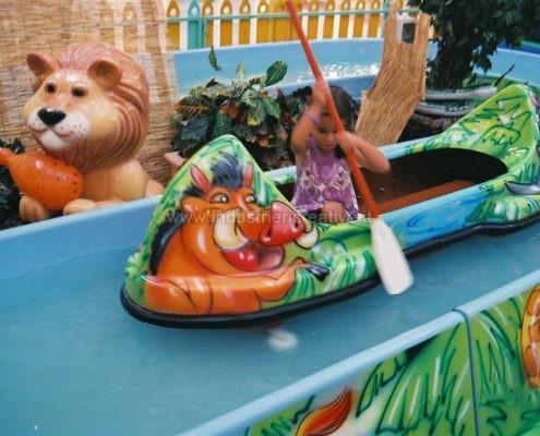 Water attraction supply - Giostra acquatica Jungle River per parco giochi - produzione e vendita - fabrication de manèges pour parcs d'attractions