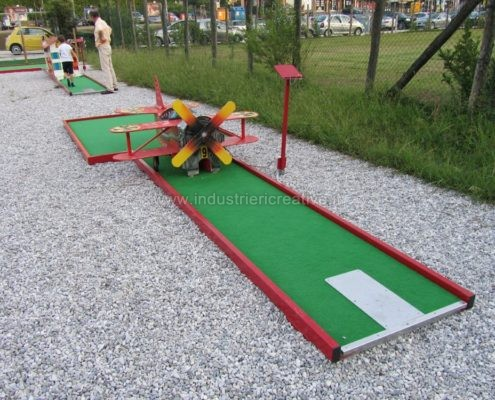 Miniature golf manufacturers - fabrication de minigolf - Minigolf Hersteller