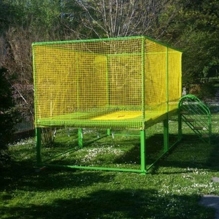 Professional garden trampoline - manufacturing and supply