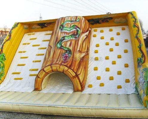 Scivolo gonfiabile Giungla - produzione e vendita di grandi scivoli gonfiabili - vente de toboggan gonflable jungle