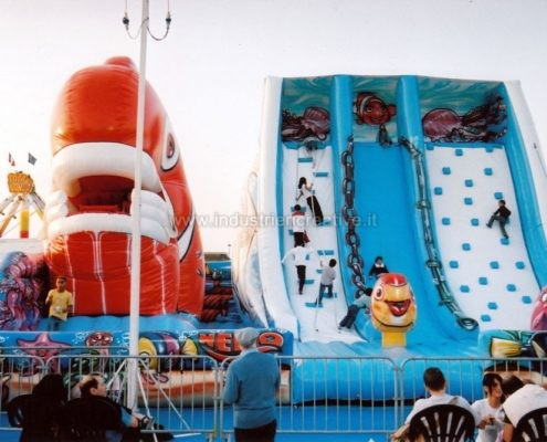 Scivolo gonfiabile Onda - produzione e vendita di scivoli per bambini