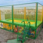 Dinoland - trampoline