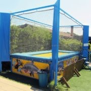 Professional trampoline for kids - manufacturing and installation