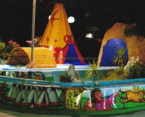 vendita di giostre per bambini - Water attraction supply -