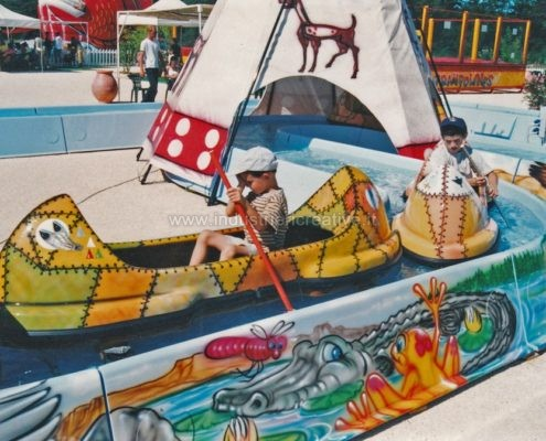 vendita di giostre per bambini - construction and supply of water attractions for amusement park and plauground