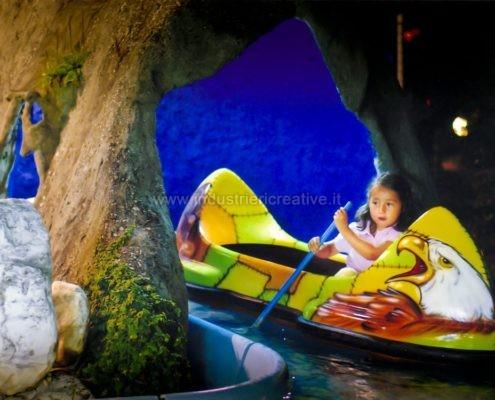 vendita di giostre per bambini - Flume ride - produzione e vendita - construction and supply of water attractions for amusement park and plauground - fabrication de manèges pour parcs d'attractions