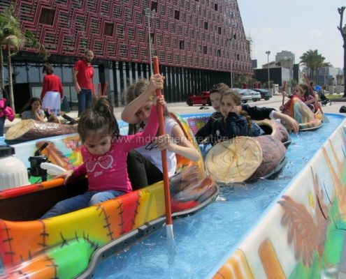 Giostra acquatica per luna park construction and supply of water attractions for amusement park and plauground