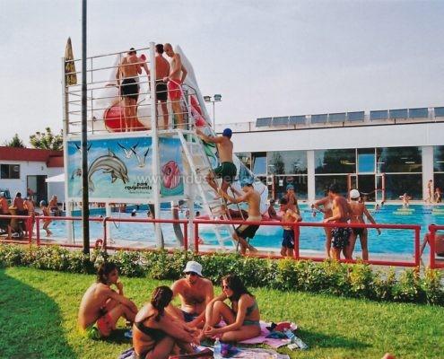Scivolo gonfiabile per piscine