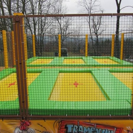 Modular professional trampolines manufacturer - Tappeti elastici vendita