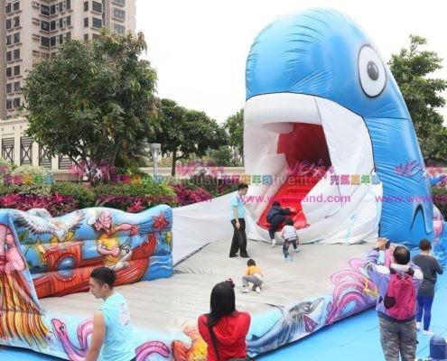 Balena Hong Kong - produzione e vendita di giochi gonfiabili in tutto il mondo